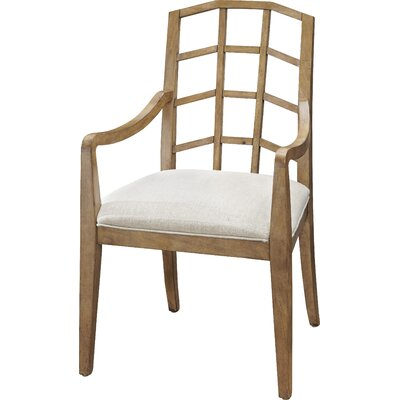 Edgerton Arm Chair (Set of 2) Arm Chair Finish: Bisque