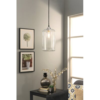 Jasmine Clear 1-Light Mini Pendant