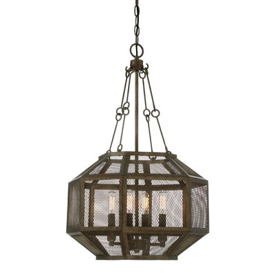 Jaylene 4-Light Foyer Pendant