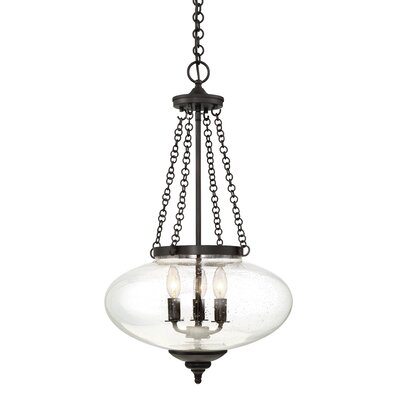 Jean 3-Light Globe Pendant Finish: English Bronze