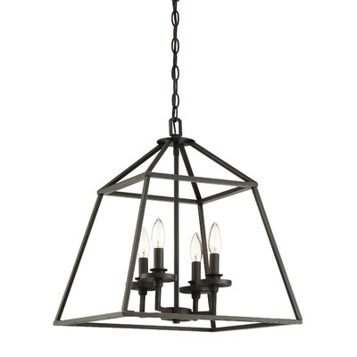 Jeanbaptiste 4-Light Foyer Pendant Finish: Classic Bronze
