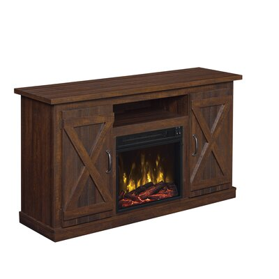 Serein TV Stand with Electric Fireplace