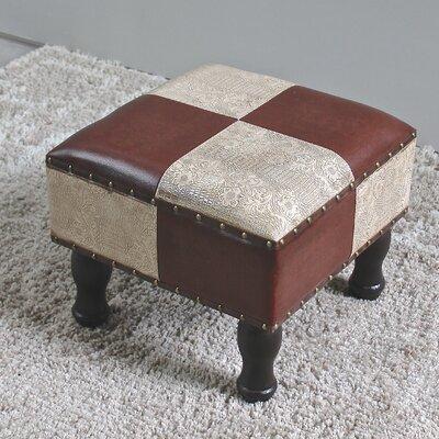 Serena Ottoman Upholstery: Mix Pattern