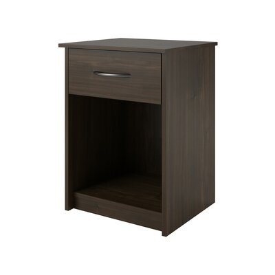 Shelley 1 Drawer Nightstand Finish: Saint Walnut