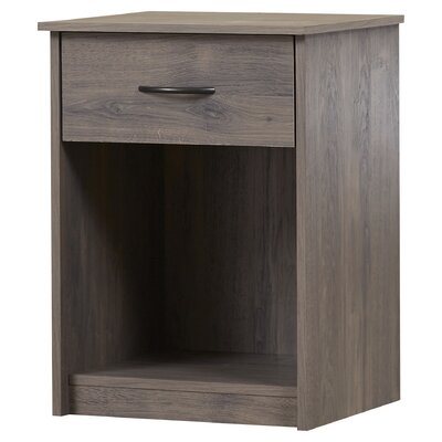 Shelley 1 Drawer Nightstand Color: Rodeo Oak