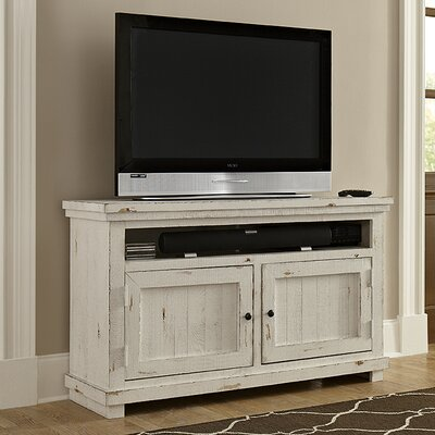 Kendall TV Stand Finish: Distressed White