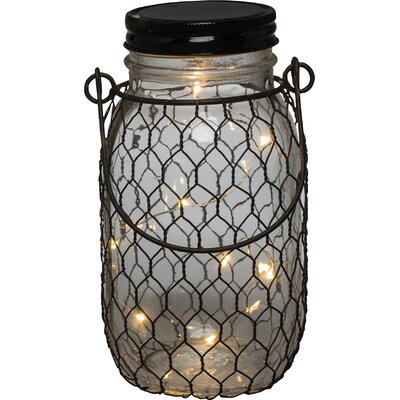 Kiley Decorative Jar Finish: Black Wire LRFY7965 37936004