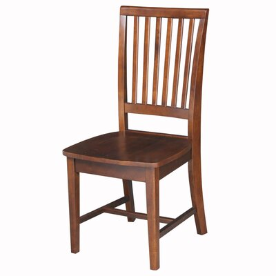Kirsten Solid Wood Dining Chair Finish: Espresso