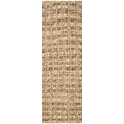 Richmond Hand-Woven Brown Area Rug Rug Size: Runner 23 x 5