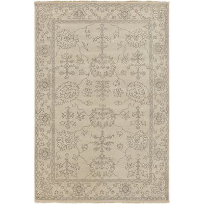 Matthieu beige Tibetan Rug Rug Size: Rectangle 39 x 59