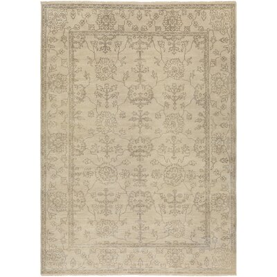 Matthieu beige Tibetan Rug Rug Size: Rectangle 8 x 11