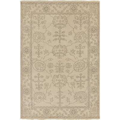 Matthieu beige Tibetan Rug Rug Size: Rectangle 56 x 86