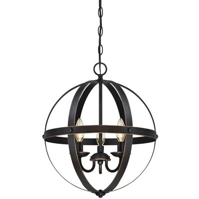 La Barge 3-Light Foyer Pendant Finish: Bronze