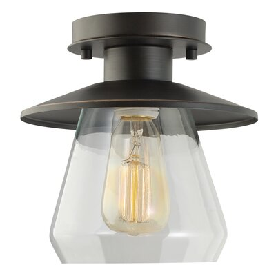 La Grange 1-Light Semi Flush Mount