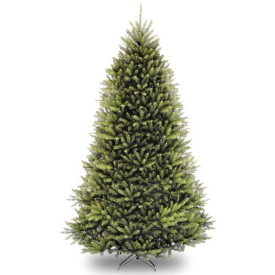Fir 9' Hinged Green Artificial Christmas Tree and Stand LRFY8019 37985853