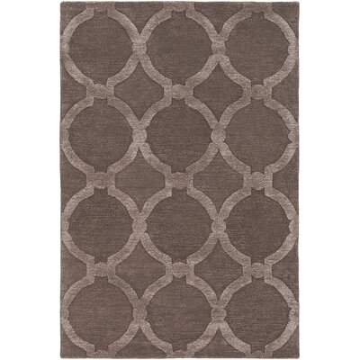 Labastide Hand-Tufted Cocoa Area Rug Rug Size: Rectangle 3 x 5