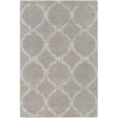 Labastide Hand-Tufted Light Gray Area Rug Rug Size: Rectangle 8 x 11