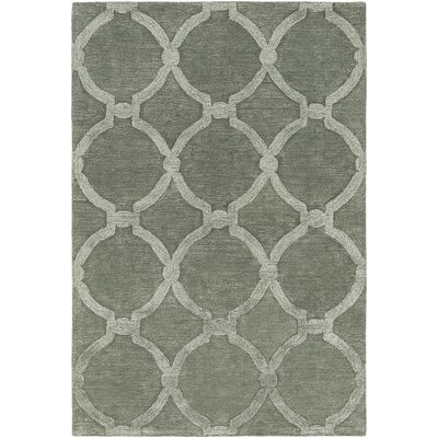 Labastide Hand-Tufted Sage Area Rug Rug Size: Rectangle 76 x 96
