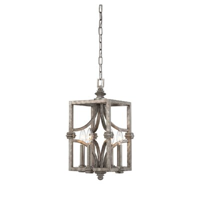 Freeburg 4-Light Foyer Pendant