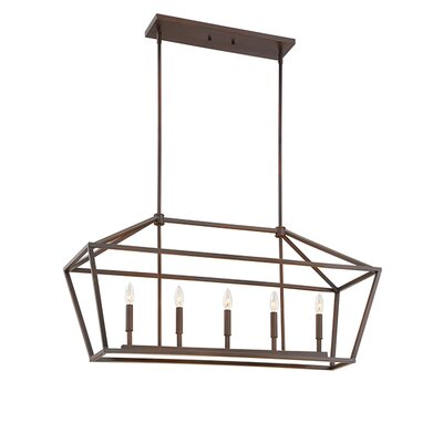 Freemont 5-Light Foyer Pendant Finish: Rubbed Bronze