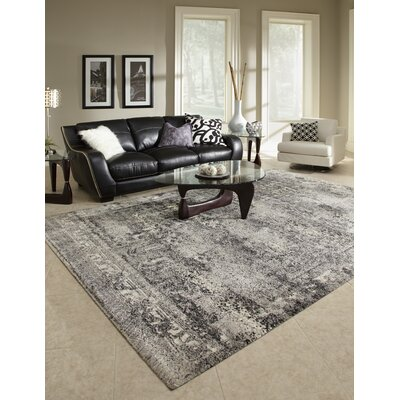 Binette Contemporary Ash Rug Rug Size: Rectangle 92 x 127
