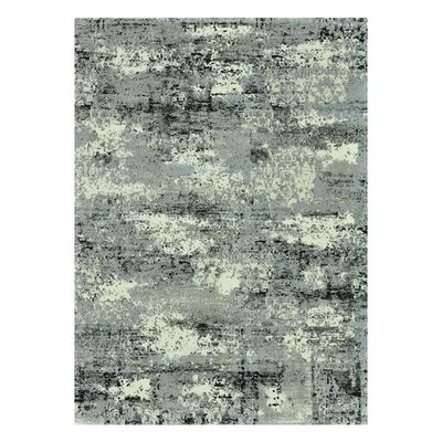 Parinaaz Grey Rug Rug Size: 92 x 127