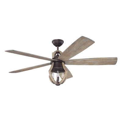 """56"""" Marcoux 5 Blade Ceiling Fan with Remote"""