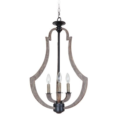 Marcoux 3-Light Foyer Pendant