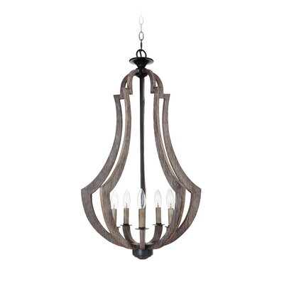 Marcoux 5-Light Foyer Pendant