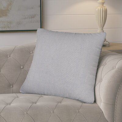 Edna Cotton Throw Pillow Color: Light Blue