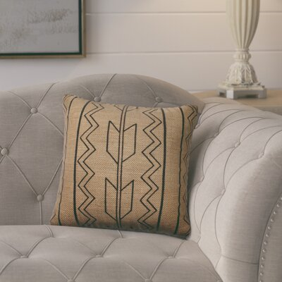 Idella Burlap Throw Pillow
