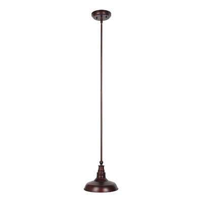 Stephine 1-Light Mini Pendant Finish: Textured Coffee Bronze