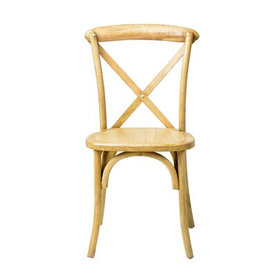 Sudie Solid Wood Dining Chair Finish: CL Natural