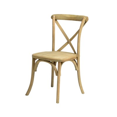 Sudie Solid Wood Dining Chair Finish: Tinted Raw