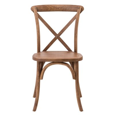 Sudie Solid Wood Dining Chair Finish: PRL Fruitwood