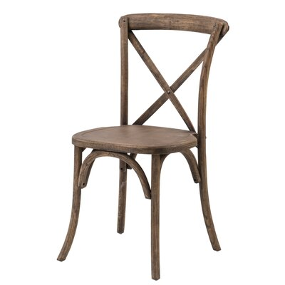 Sudie Solid Wood Dining Chair Finish: Dark Fruitwood