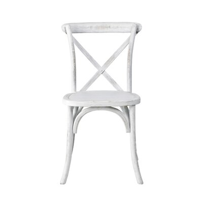 Sudie Side Chair Finish: White Wash