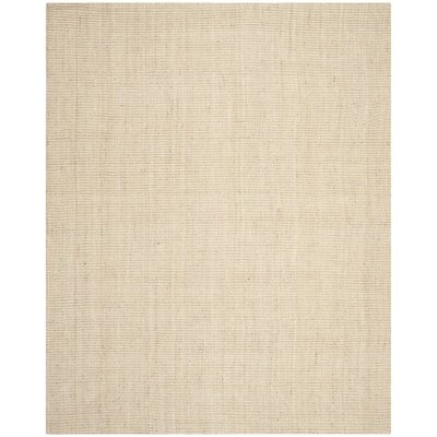 Muriel Hand-Woven Ivory Area Rug Rug Size: Rectangle 11 x 15