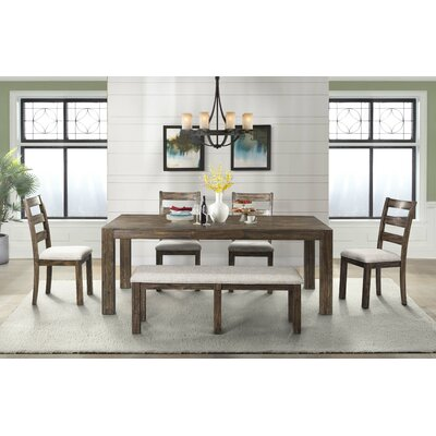 Chelton 6 Piece Extendable Dining Set