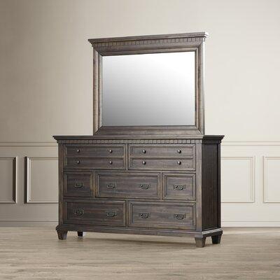 Suzann 7 Drawer Dresser with Mirror