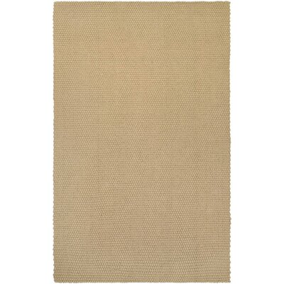 Lauren Air Hand-Loomed Oatmeal Area Rug Rug Size: Rectangle 5 x 8