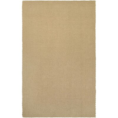 Lauren Air Hand-Loomed Oatmeal Area Rug Rug Size: Rectangle 6 x 9