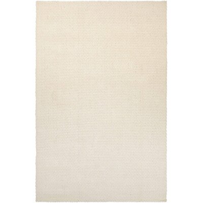 Lauren Air Hand-Loomed Off White Area Rug Rug Size: 4 x 6