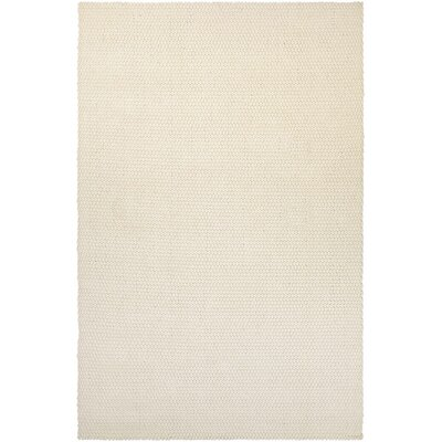 Lauren Air Hand-Loomed Off White Area Rug Rug Size: 5 x 8