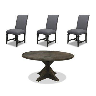 Sydney 6 Piece Dining Set Upholstery: Gray, Finish: Gray