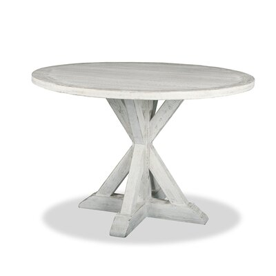 Sydney Pub Table Finish: Dry White, Size: 42 H x 42 L x 42 W