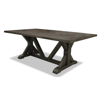 Sydney Dining Table 96 inch Finish: Grey