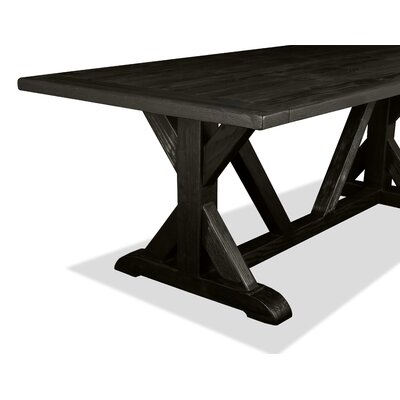 Sydney Dining Table 72 Finish: Black