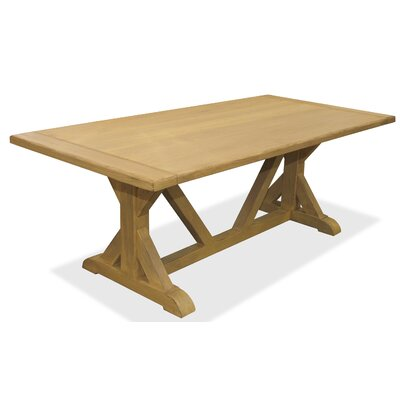 Sydney Dining Table 84 inch Finish: Maple