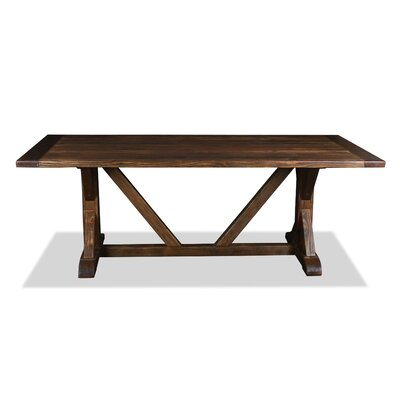Sydney Dining Table 84 Finish: Cognac